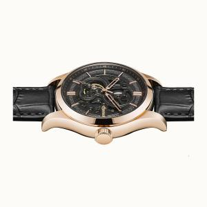 Ingersoll 1892 I06802 Mens The Armstrong Movement Automatic Case Stainless Steel Dial Black Strap Leather Brown Matt