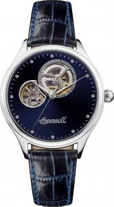 Ingersoll 1892 I07002 Ladies The Vamp Movement Automatic Case Stainless Steel Dial Blue Strap Leather Blue Matt